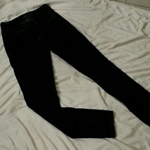 Maurices Dark wash jeggings